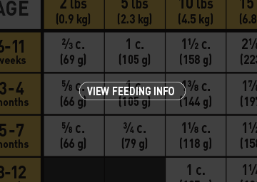 View Feeding Info Graphic
